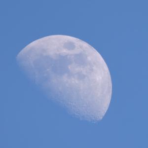 長田の夕月